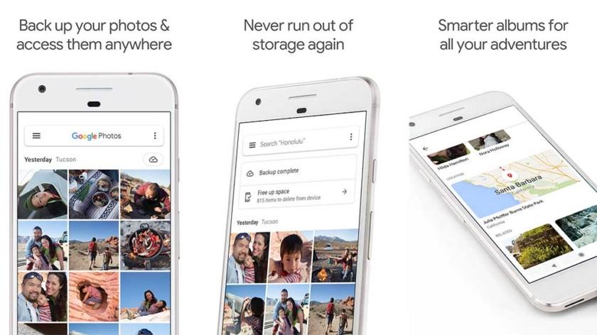 Google Photos - parhaat äitienpäivän sovellukset Androidille