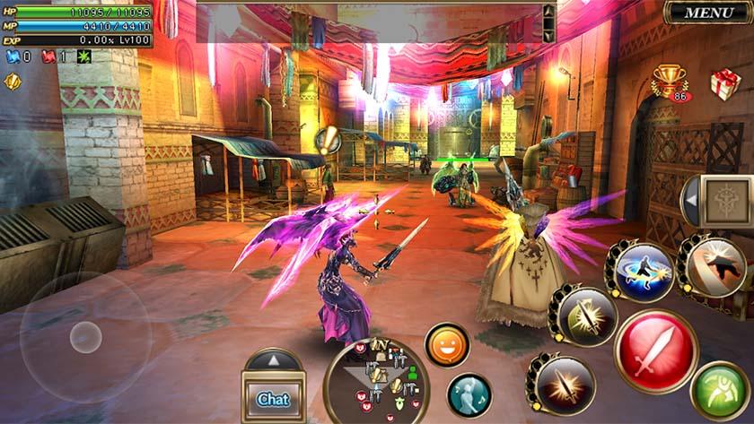 Aurcus Online on yksi parhaista MMORPG-tiedostoista Androidille