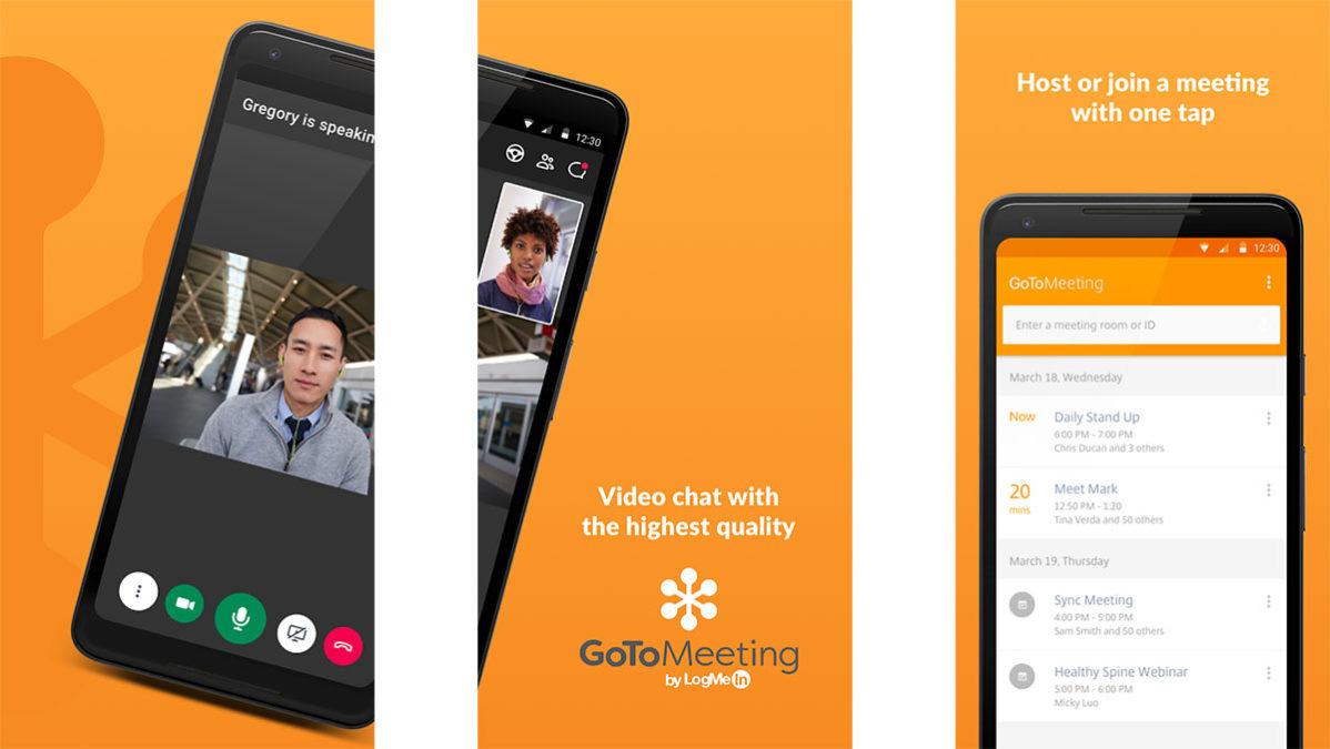 GoToMeeting on yksi parhaista Android-videoneuvottelusovelluksista