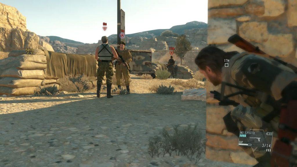 Metal Gear Solid V Phantom-kipu