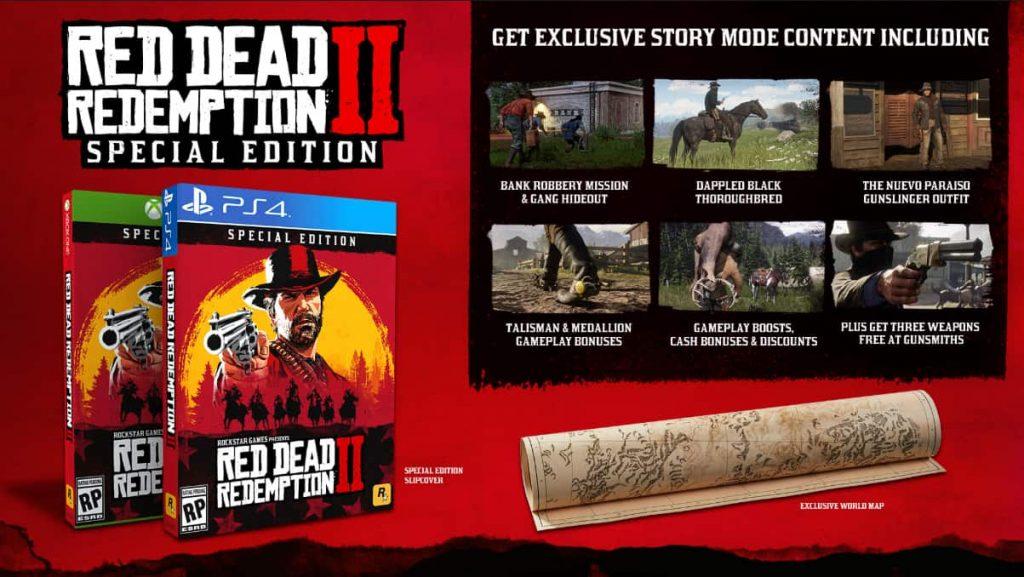 "Red Dead Redemption Ultimate Edition vs. Erikoispainos vs. standardi 2""leveys ="" 500 ""korkeus ="" 282"