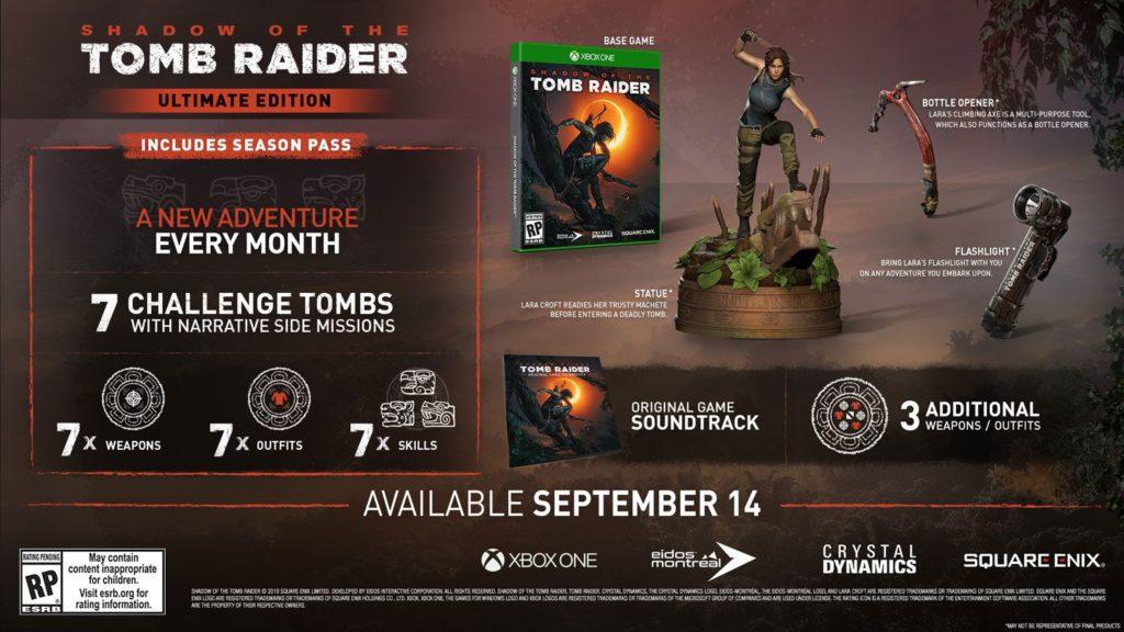 Tomb Raiderin varjo - Ultimate Edition