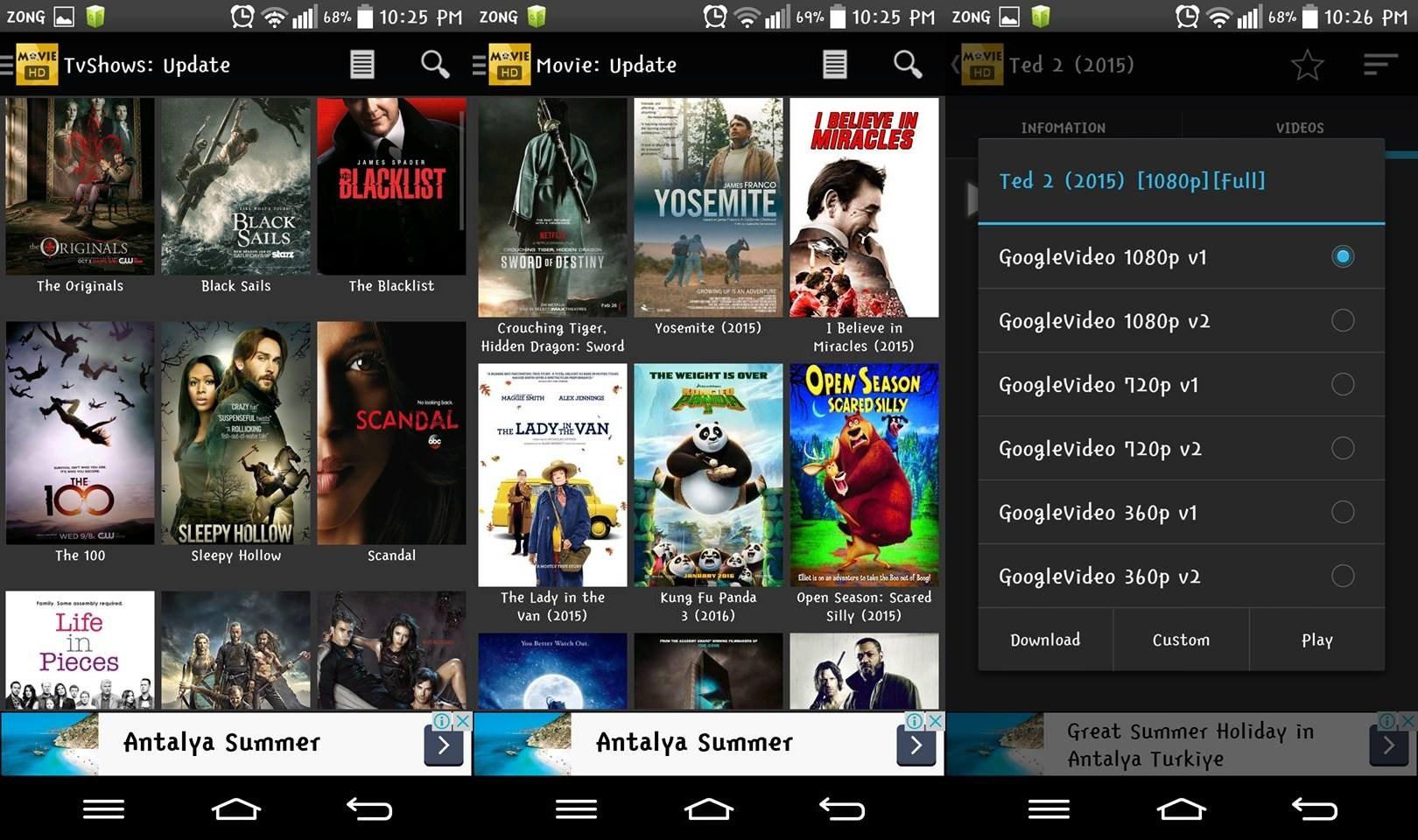 Parhaat parhaat sovellukset elokuvien ja TV-ohjelmien suoratoistoon Androidilla 6