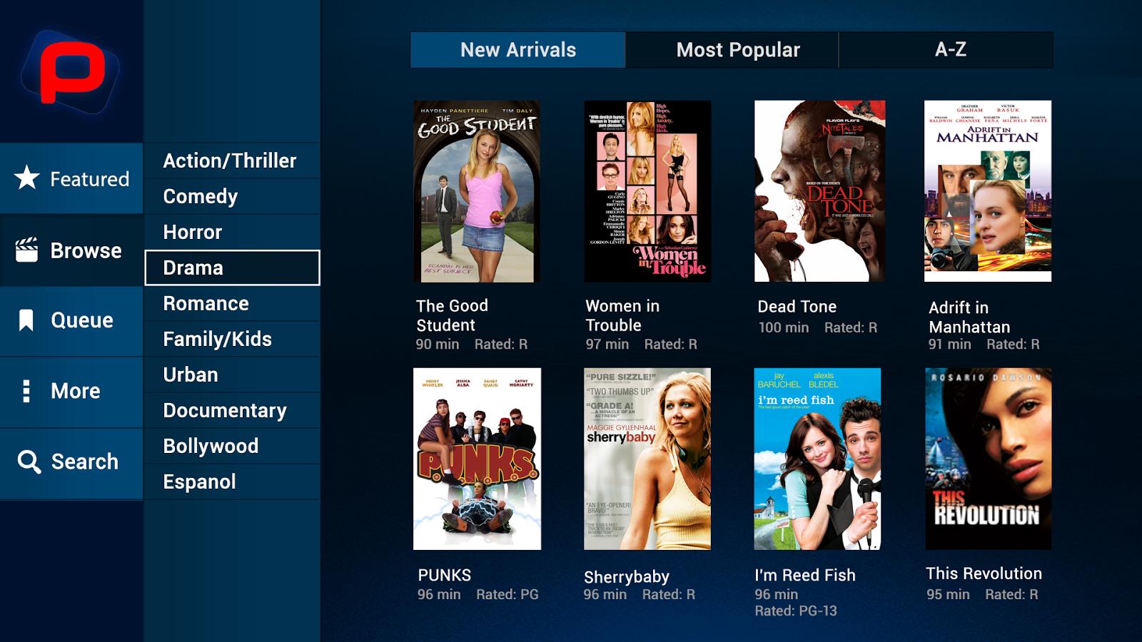 Parhaat suositut sovellukset elokuvien ja TV-ohjelmien suoratoistoon Android 10: llä