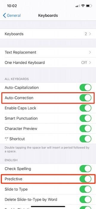 Korjaa iPhonen automaattinen korjaus