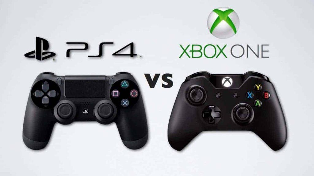 DualShock 4 Vs. Xbox One S -ohjain.