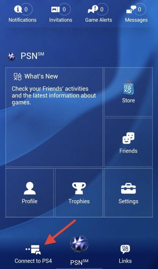 Vaiheet iPhonen käyttämiseksi PS4: n näppäimistönä
