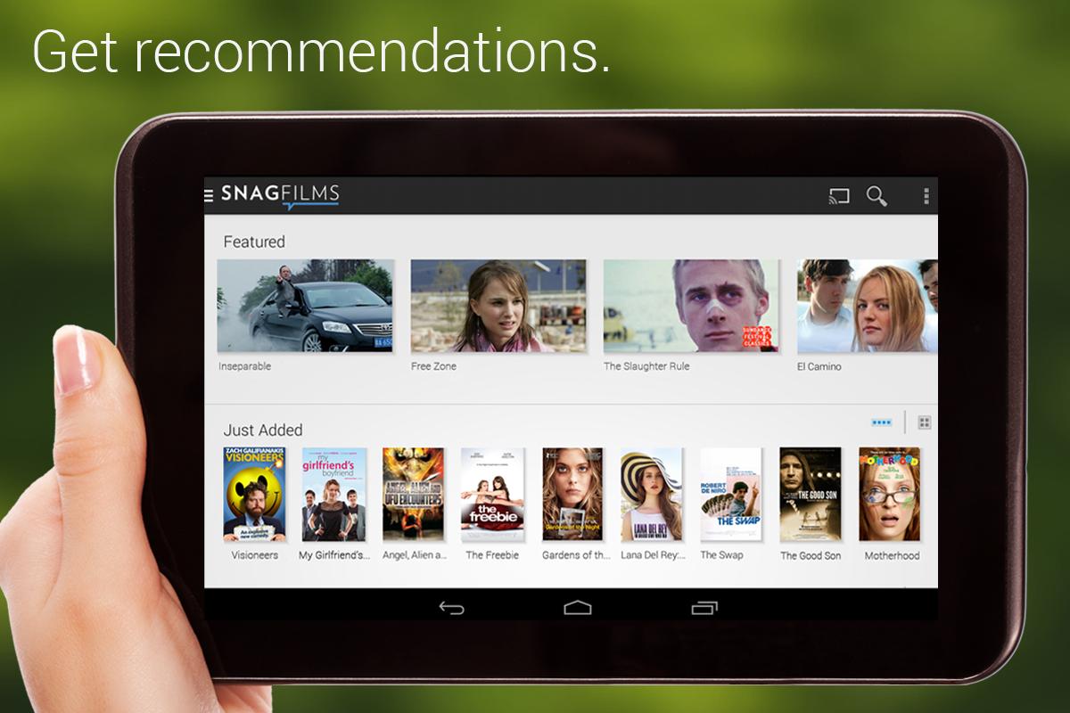 Parhaat parhaat sovellukset elokuvien ja TV-ohjelmien suoratoistoon Androidilla 2