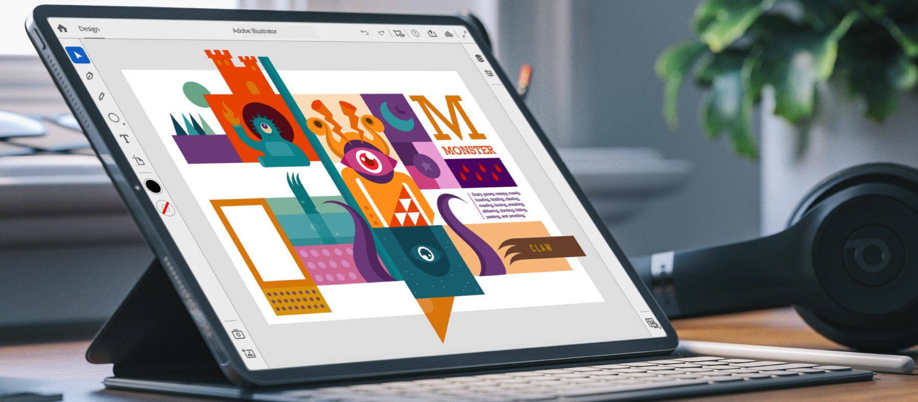 Illustrator for iPad ilmestyy vuonna 2020, ja Adobe on alkanut kutsua käyttäjiä testaamaan sovelluksen beetaversio 1