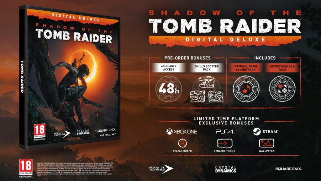 Tomb Raiderin varjo - Digital Deluxe Edition
