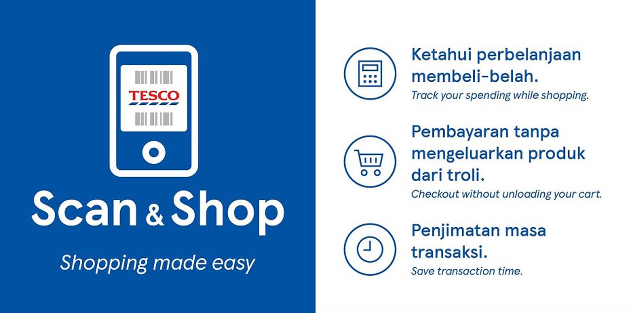 Tesco esittelee Scan & Shop -sovelluksen tehokkaisiin ostoksiin 1