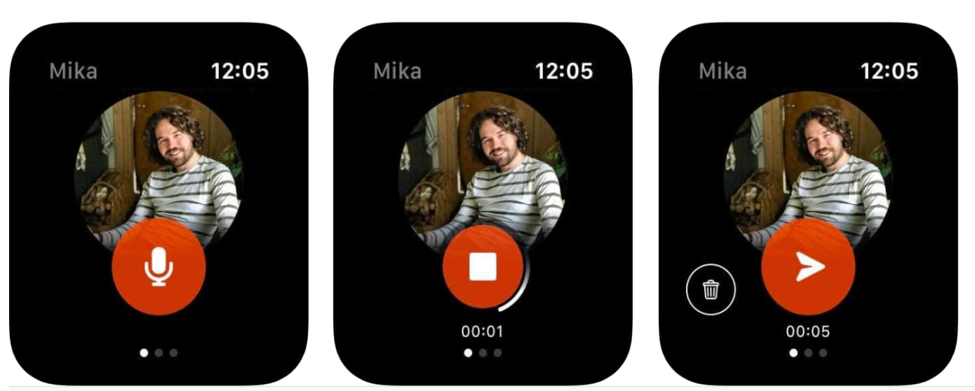 """""""Kit"""" on uusi Facebook kokeellinen sovellus, joka keskittyy viestien lähettämiseen läheisille ystäville Internetissä Apple Watch 1"""