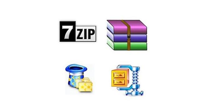 10+ tiedostojen pakkaussovellukset PC / kannettavaan tietokoneeseen ilmaiseksi ja helppokäyttöinen