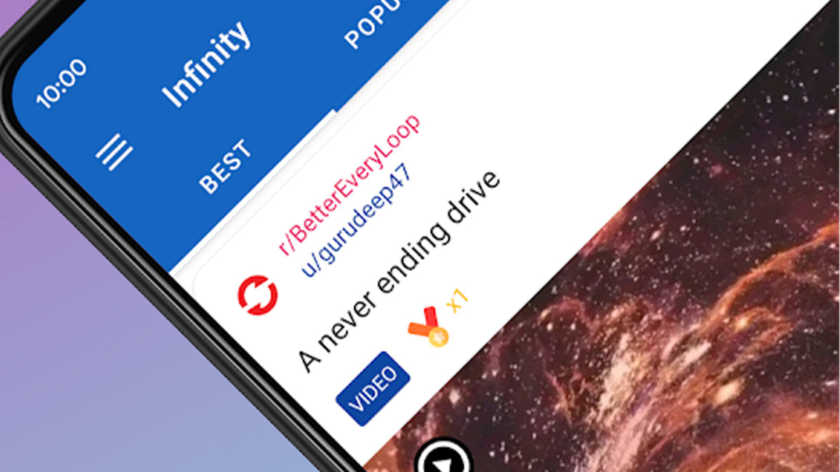Infinity parhaat Reddit-sovellukset Androidille