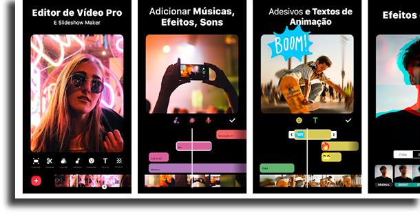 Aplicativos InShot para acelerar e desacelerar filmes