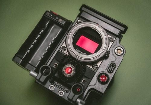 Kamera-anturin koko