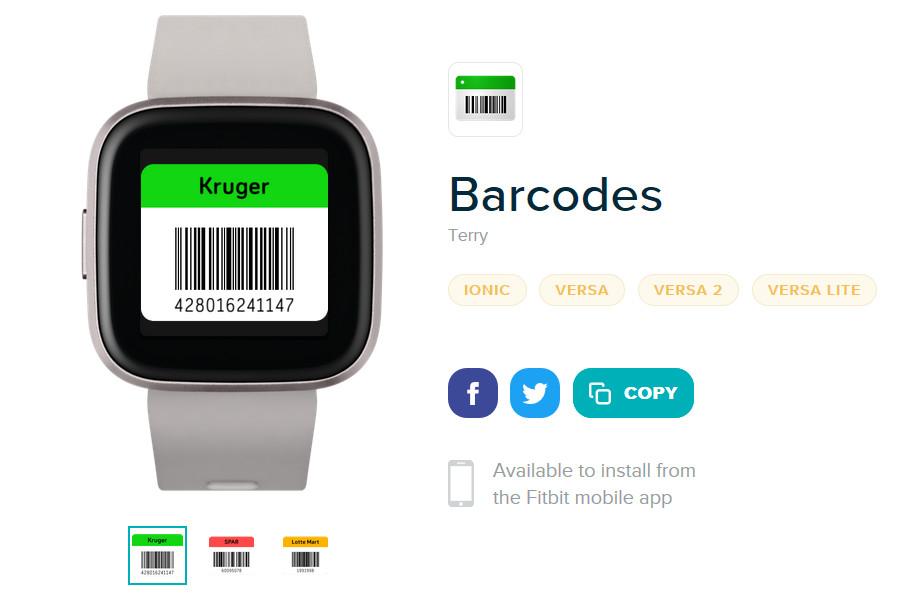 """Viivakoodit Fitbit-sovellukset """"leveys ="""" 1200 """"korkeus ="""" 784"""
