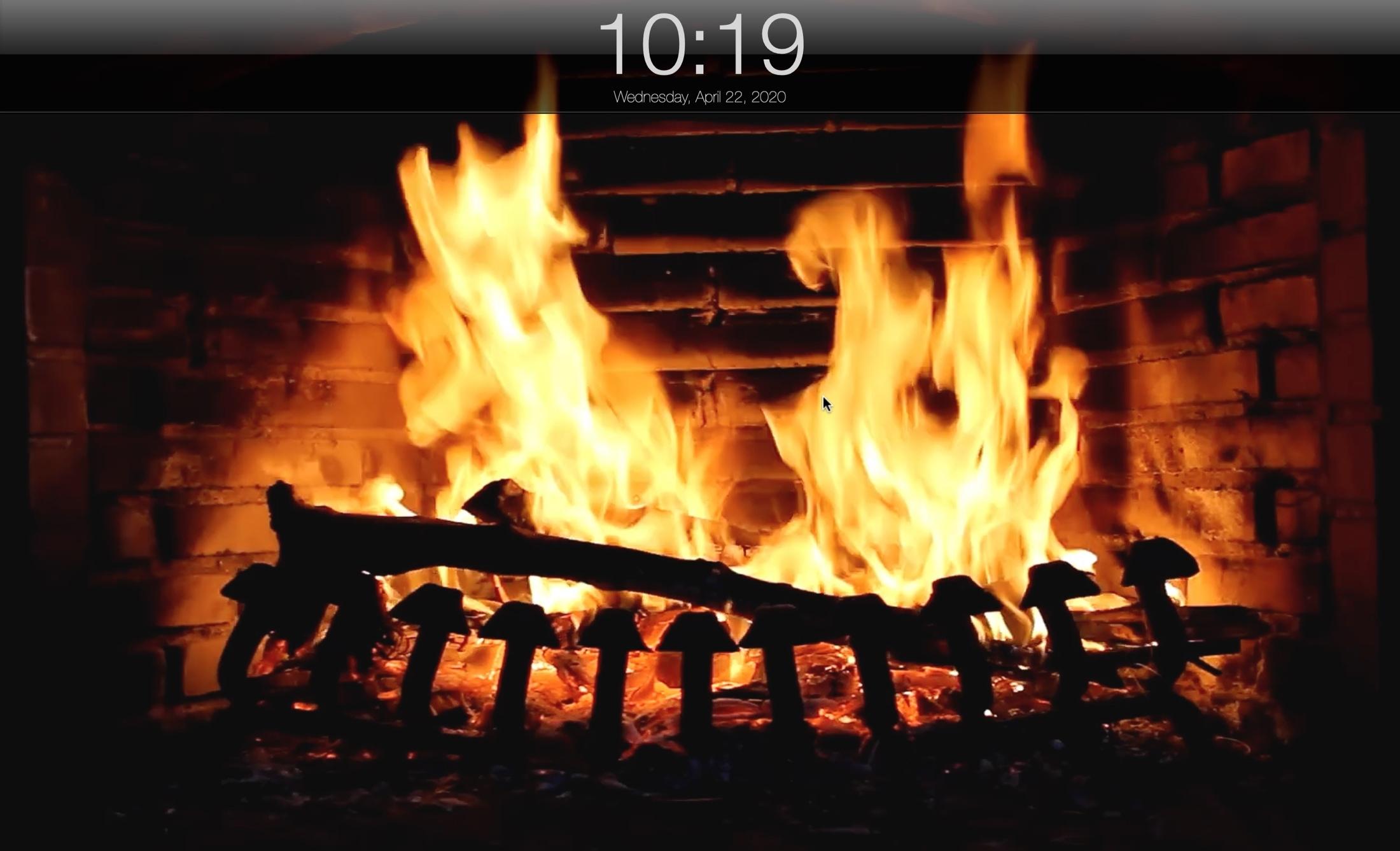 Takka Live HD -näytönsäästäjä Mac