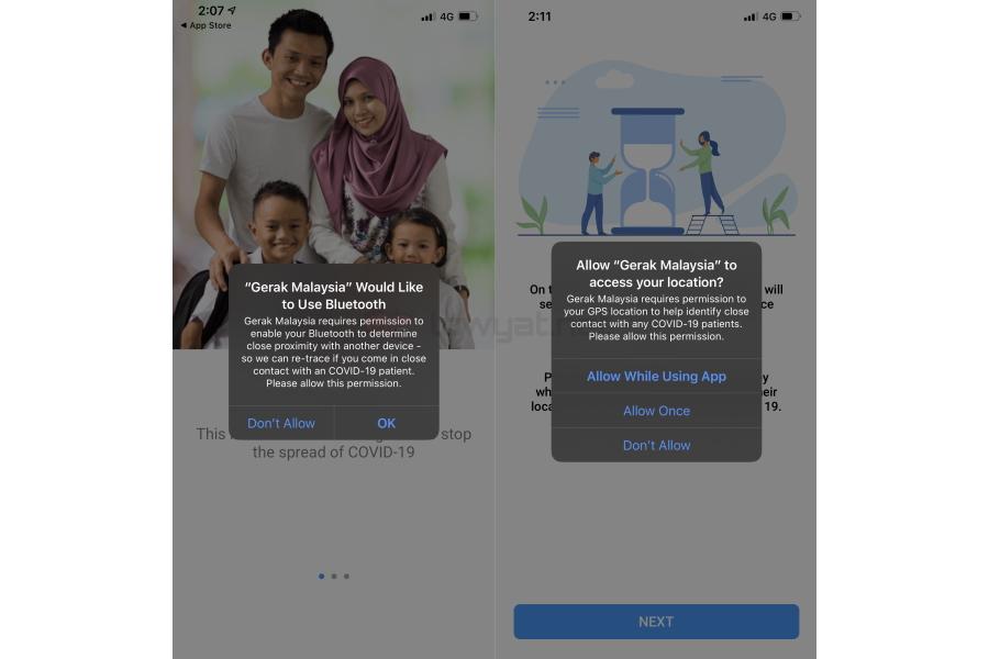 Gerak Malaysia: Malesian hallituksen toinen COVID-19-sovellus 3
