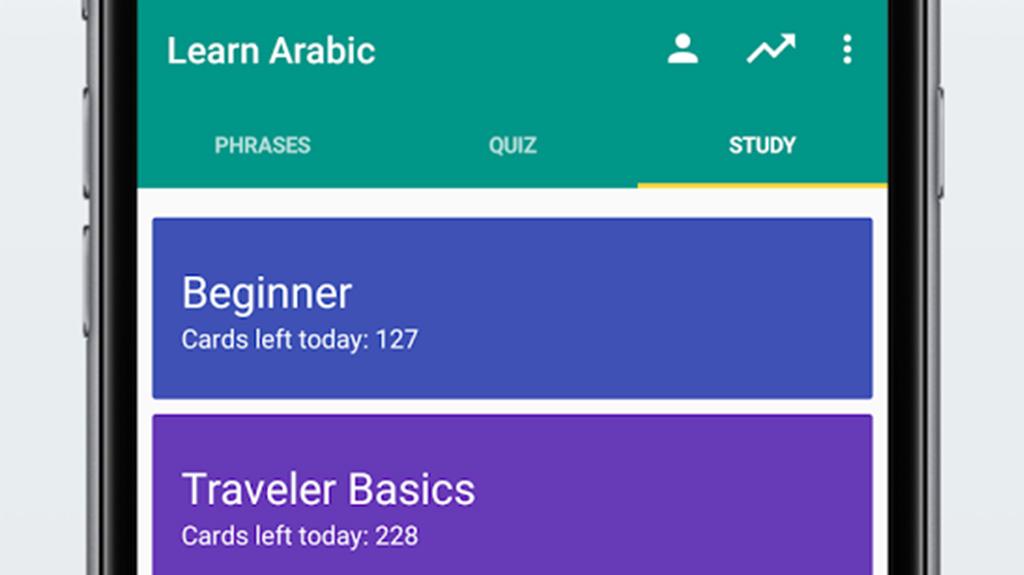 Tämä on korostettu kuva parhaista englannista arabiaksi-sanakirjoihin ja ilmaisukirjoihin Androidille