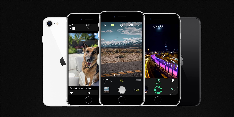 Halide- ja Specter-päivitykset mahdollistavat iPhone SE -muototilan elottomille esineille ja lemmikkieläimille 1