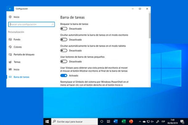 Kuinka mukauttaa tehtäväpalkkia Windows 10 1