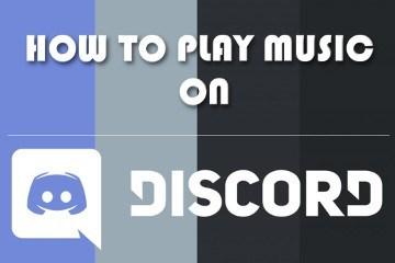 Kuinka soittaa musiikkia Discord-ohjelmassa
