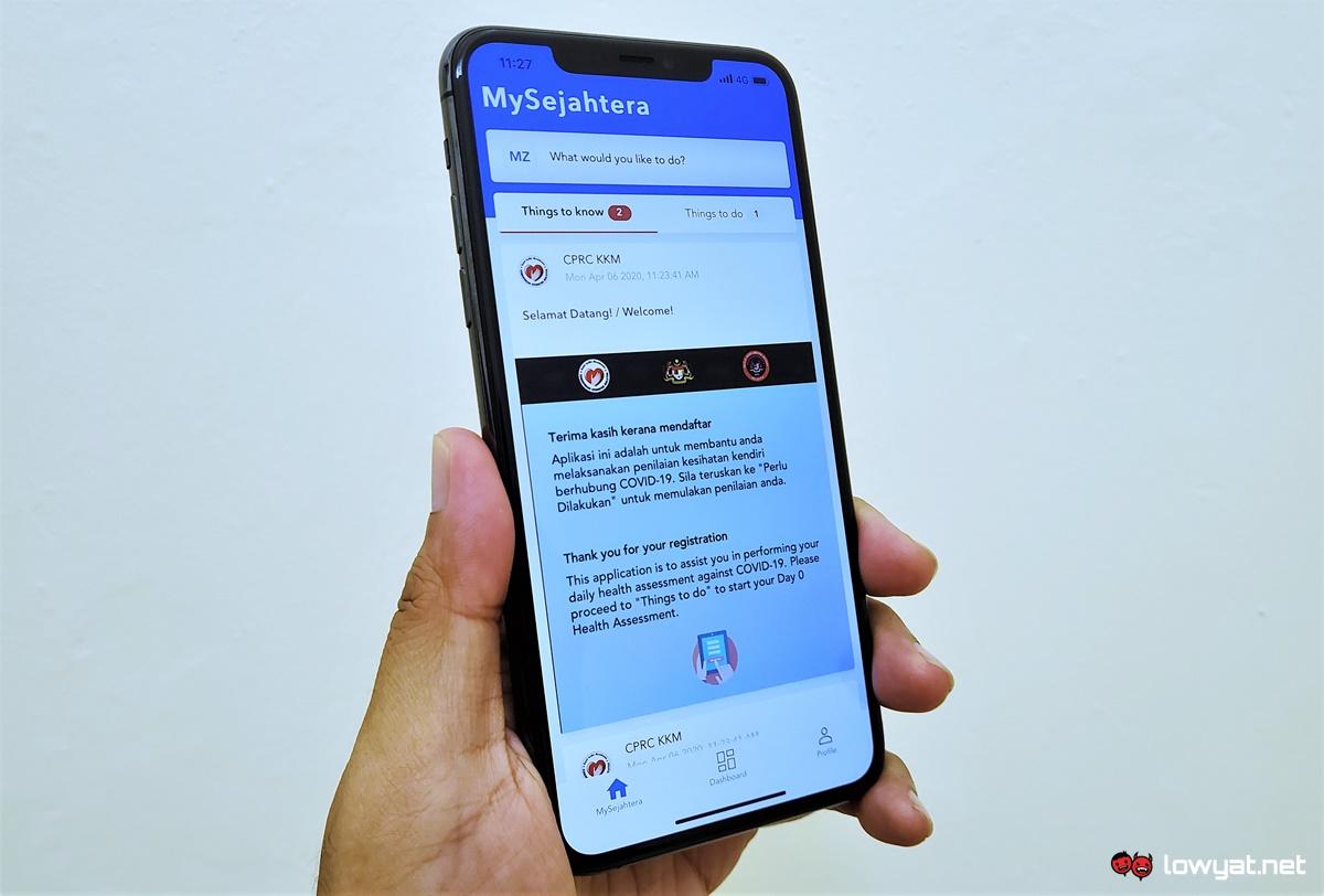 O aplicativo MySejahter implementará o suporte ao código QR no próximo mês 1
