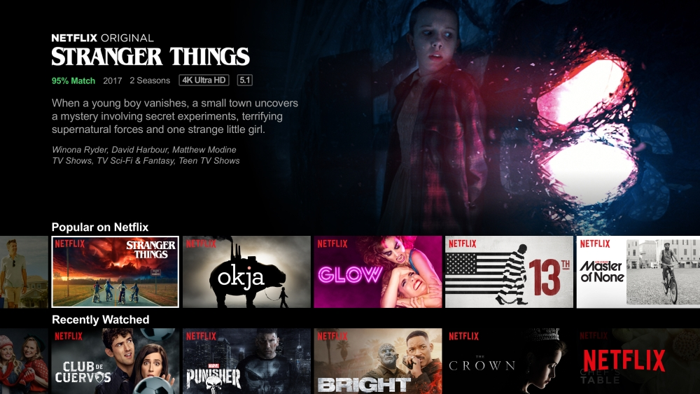 Netflix heikentää suoratoiston laatua Euroopassa kuukauden ajan 1