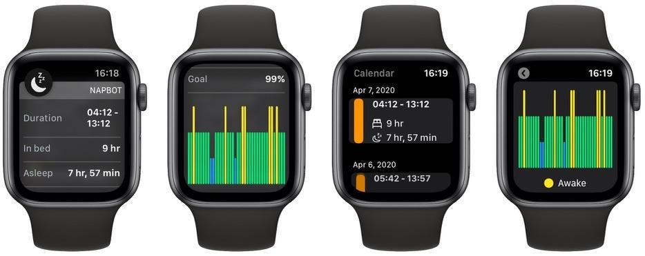 NapBot-nukkumisen seuranta saa kalenterin navigoinnin, dynaamiset ilmoitukset ja tehostuksen; muita uusia ominaisuuksia 1
