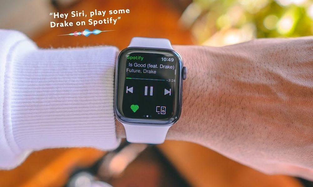 O Spotify agora funciona com o Siri Apple Watch - Experimente estes 15 comandos 1
