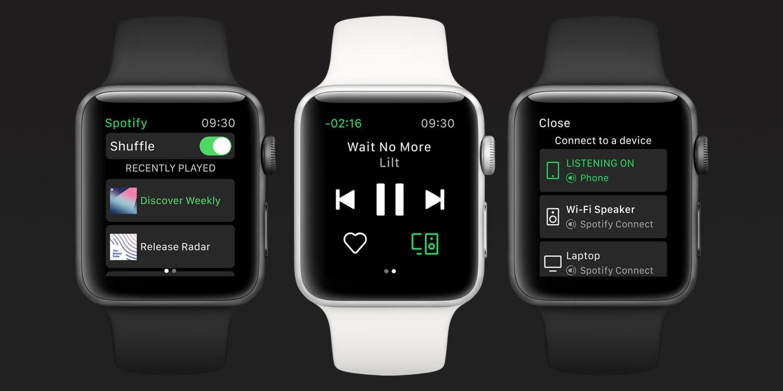 Siri Spotify -tuki on käynnistetty Apple Watch 1