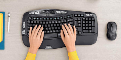 Osoita Logitech Keyboard Mouse Featured