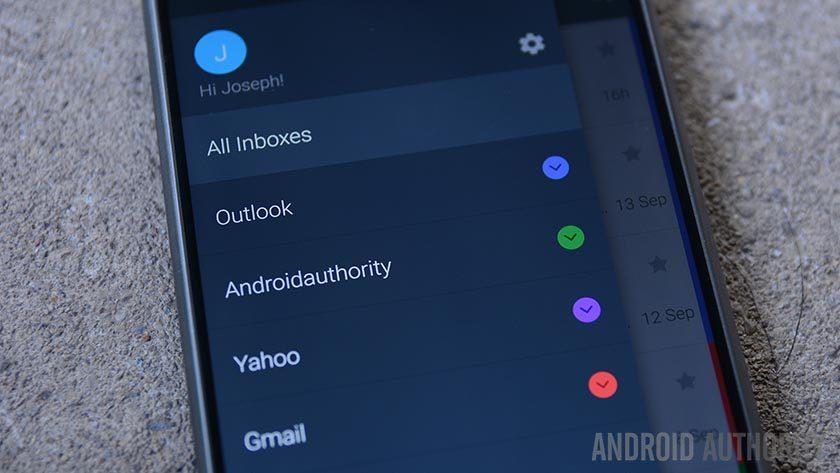 parhaat sähköpostisovellukset Androidille