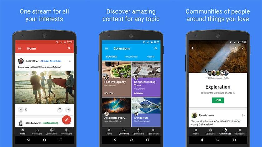 Google+ - turhimmat sovellukset