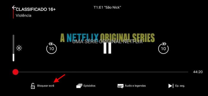 Netflix-näytön lukitusongelma Androidille
