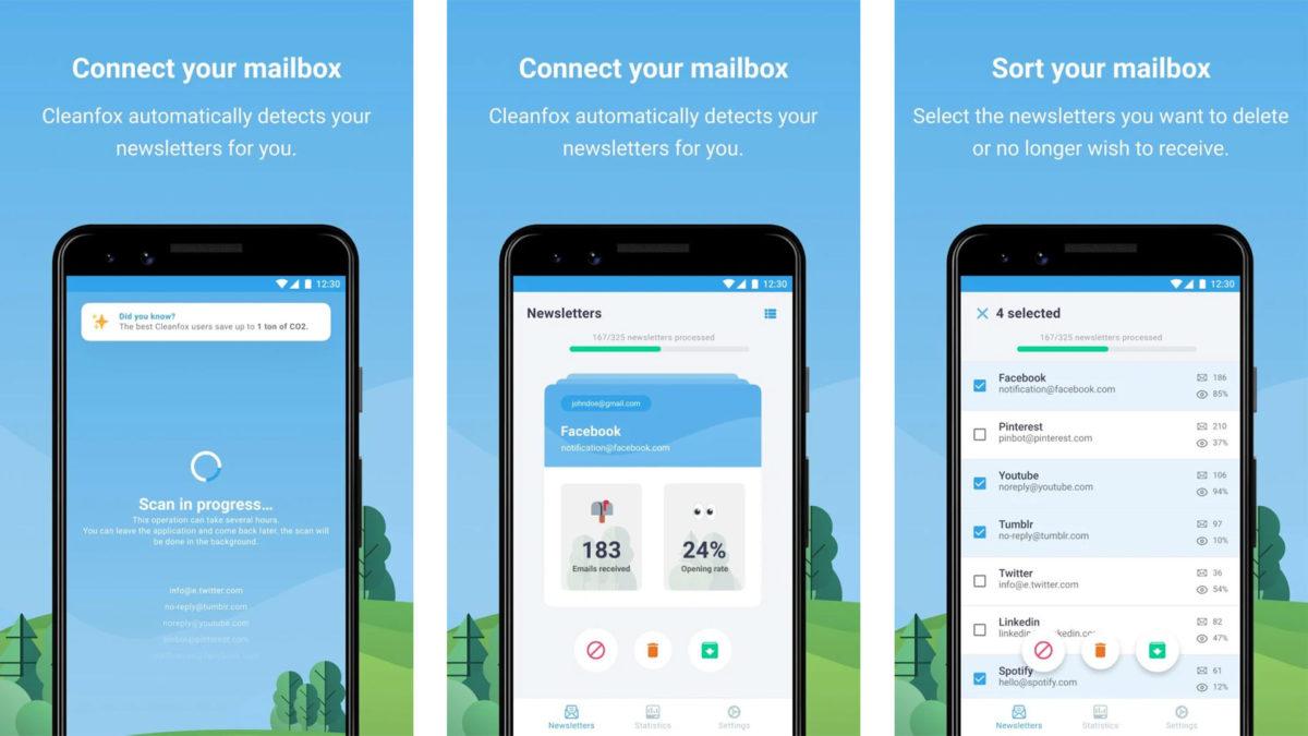 Cleanfox on yksi parhaista sähköpostisovelluksista