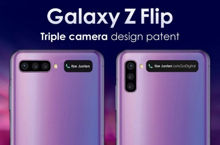 Yeni Samsung Galaxy Flip ilə 2 üç kamera ilə gələ bilər 2
