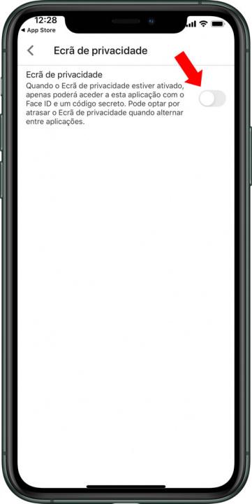 Изображение с Google Диска для iOS с идентификатором лица или Touch ID
