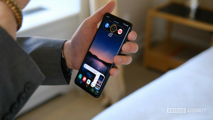 Kuvakaappaus LG G8 ThinQ Air Motion -laitteesta