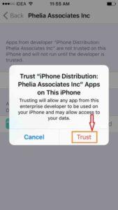 Tap vs. Trust