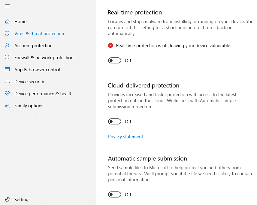 Como vencer Windows Encontradas ameaças antivírus do Defender Windows 10