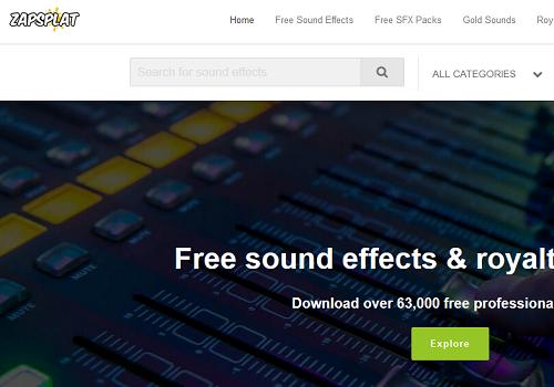 Paras verkkosivusto löytää ilmaisia ääniefektejä ilman rojaltivapaita 2