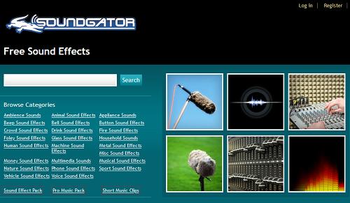 Paras verkkosivusto löytää ilmaisia ääniefektejä ilman rojaltivapaita 7