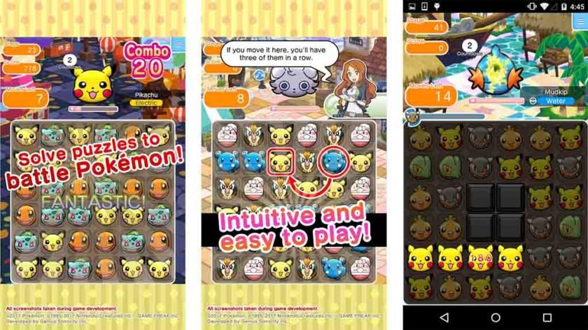 Pokemon Shuffle Mobile - parhaat pelit, kuten Candy Crush Saga
