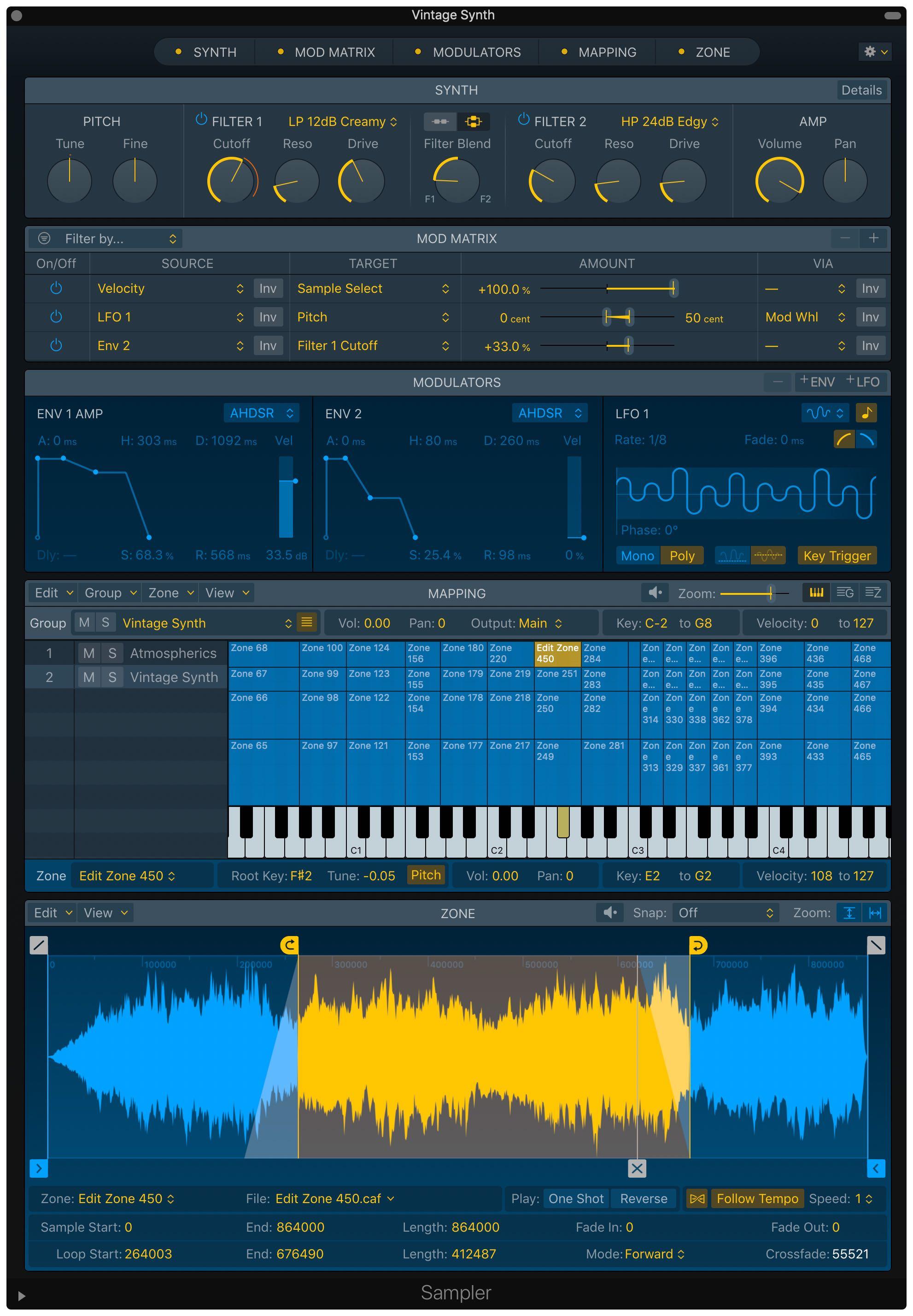 Logic Pro X 10.5 esittelee Live Loopsin, uudelleen suunnitellun näytteenottoprosessin ja uudet rytminluontityökalut 3