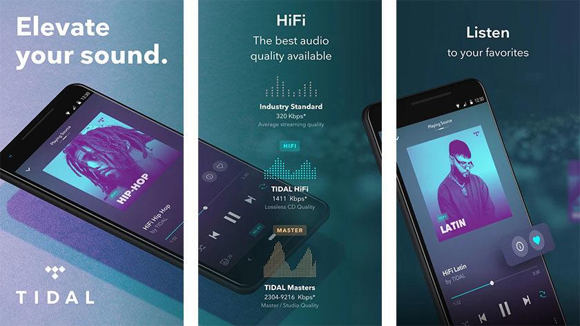 """TIDAL - parhaat musiikin suoratoistosovellukset Androidille """"leveys ="""" 1200 """"korkeus ="""" 676"""