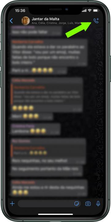 Vihje: Kuinka tehdä ryhmävideopuheluita WhatsApp-sovelluksen kautta iPhonessa 4