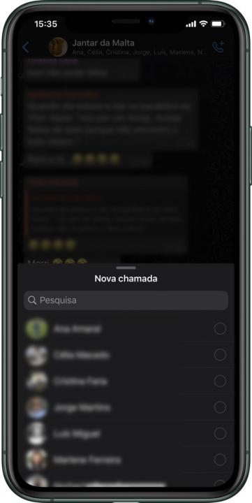 Vihje: Kuinka tehdä ryhmävideopuheluita WhatsApp-sovelluksen kautta iPhonessa 5