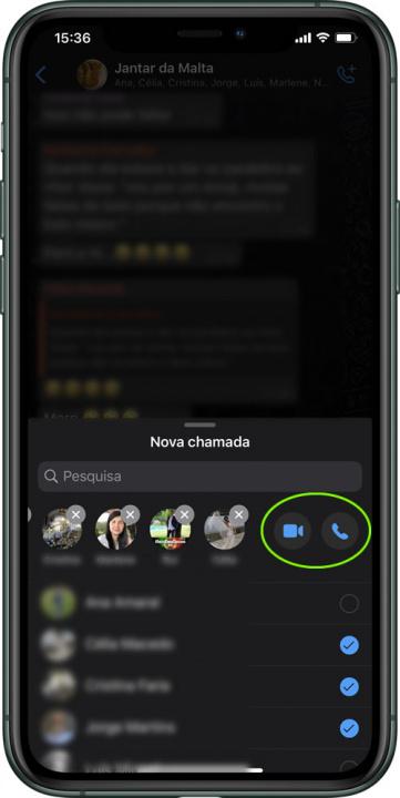 Vihje: Kuinka tehdä ryhmävideopuheluita WhatsApp-sovelluksen kautta iPhonessa 7